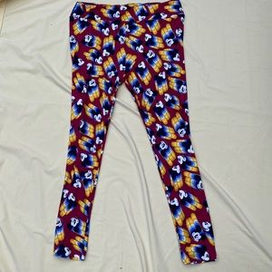 Mickey Mouse Lularoe TC Leggings